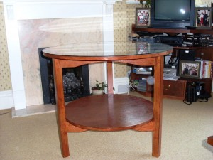 Circle Coffee Table (Finished)